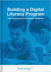 front cover of digital literacy program ebook